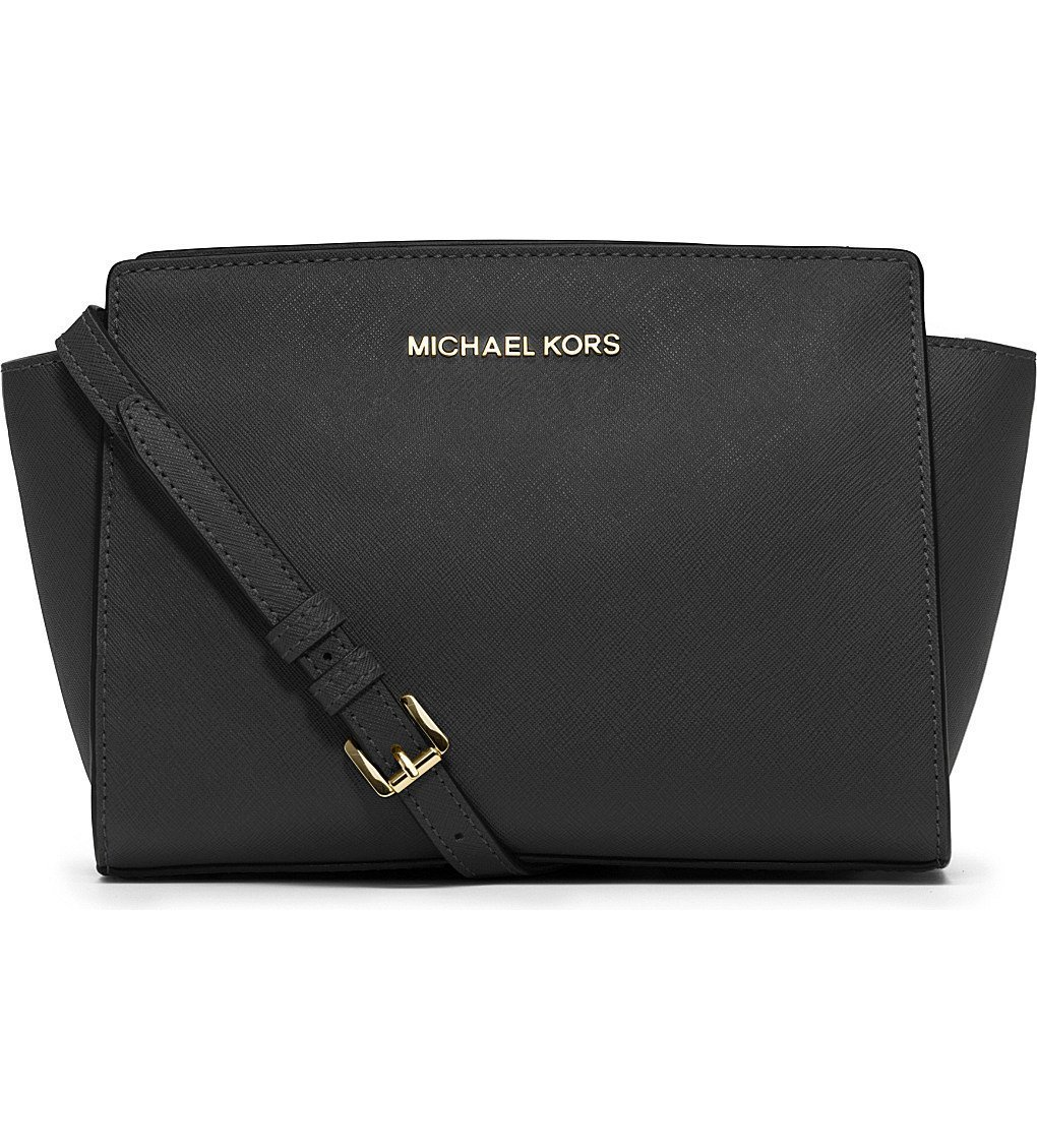 MICHAEL MICHAEL KORS Selma Medium Leather Cross-body Bag