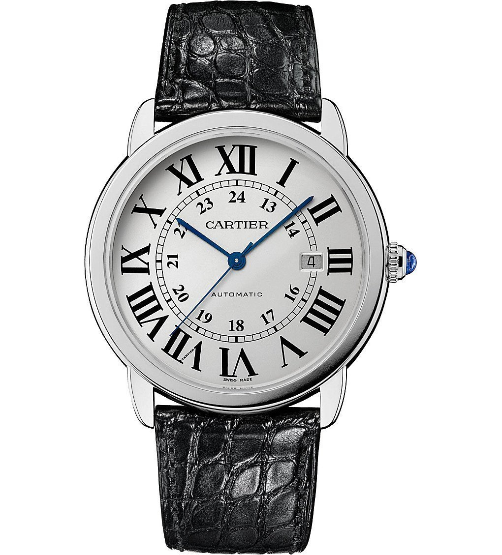 CARTIER Ronde Solo De Cartier Stainless Steel Watch