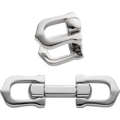 CARTIER Elongated C Shape Cufflinks