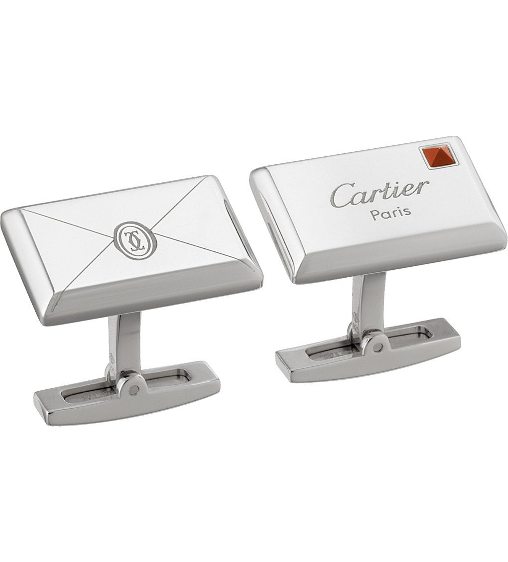 CARTIER Envelope Decor Cufflinks