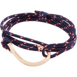 MIANSAI Rose Gold Rope Hook Bracelet