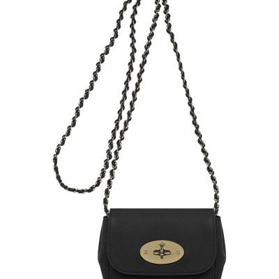 MULBERRY Mini Lily Leather Shoulder Bag