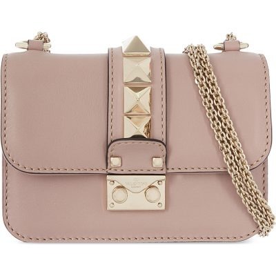 VALENTINO Rockstud Lock Mini Clutch Bag