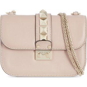 VALENTINO Stud Lock Small Shoulder Bag