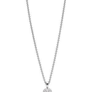 BVLGARI BVLGARI-BVLGARI 18kt White-gold And Diamond Necklace