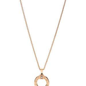 BVLGARI Bvlgari Bvlgari 18kt Pink-gold And Diamond Necklace