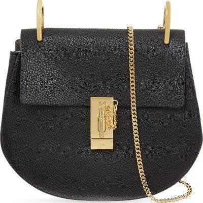 CHLOE Drew Small Leather Cross-body Bag