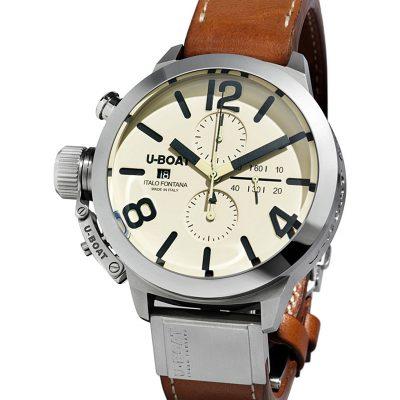 U-BOAT 7433 Stainless Steel Watch