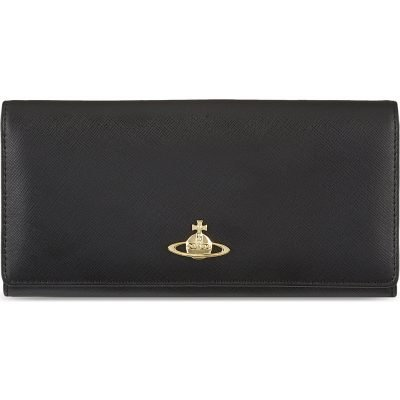 VIVIENNE WESTWOOD Saffiano Leather Wallet