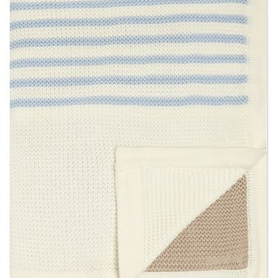 NATURES PUREST Knitted Cotton Blanket