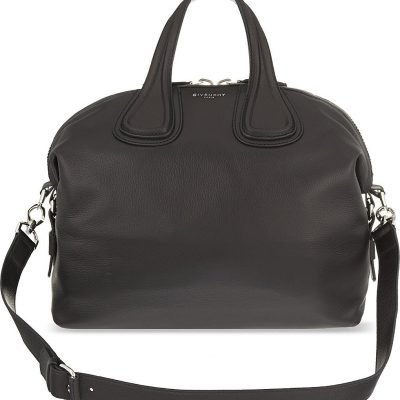GIVENCHY Nightingale Medium Leather Shoulder Bag