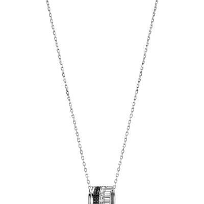 BOUCHERON Quatre Black Edition 18ct White-gold And Diamond Pendant Necklace