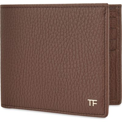 TOM FORD Grained Leather Billfold Wallet