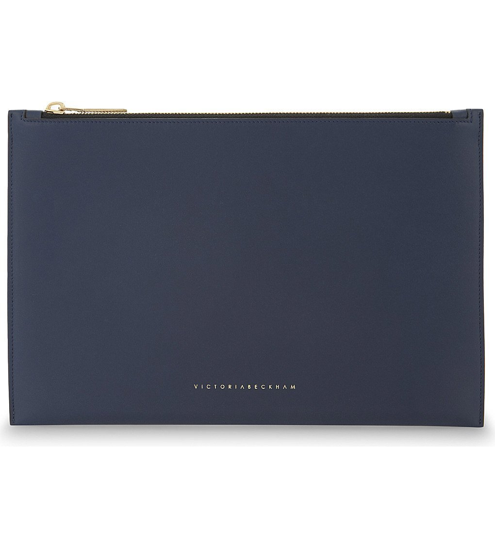 VICTORIA BECKHAM Small Leather Pouch