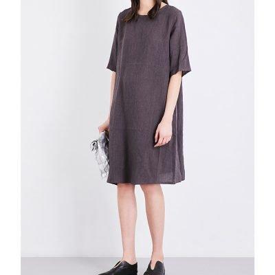 TOOGOOD The Printer Cotton Tunic Dress