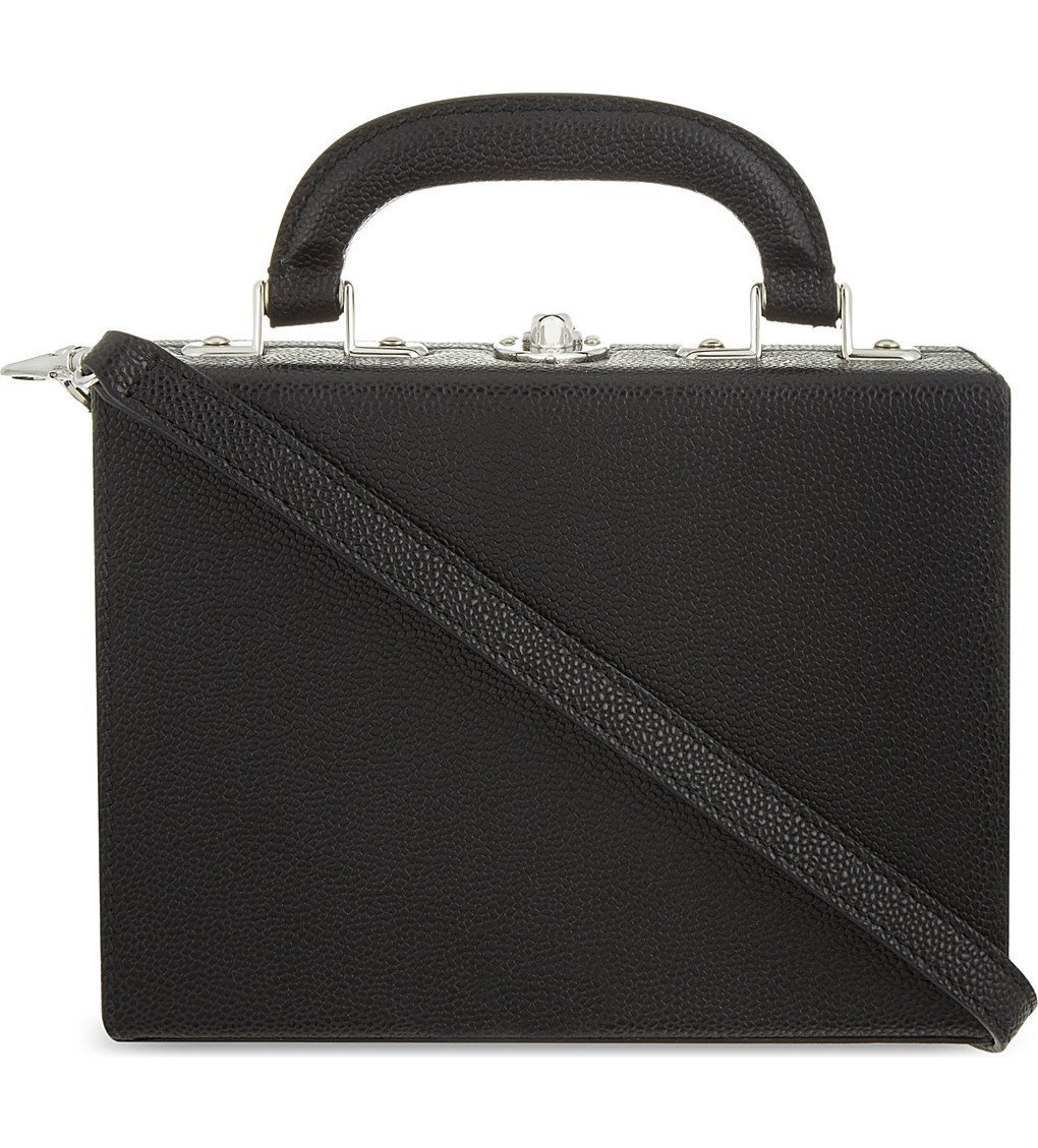 BERTONI 1949 Mini Leather Shoulder Bag