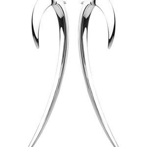 SHAUN LEANE Sterling Silver Hook Earrings Size 2