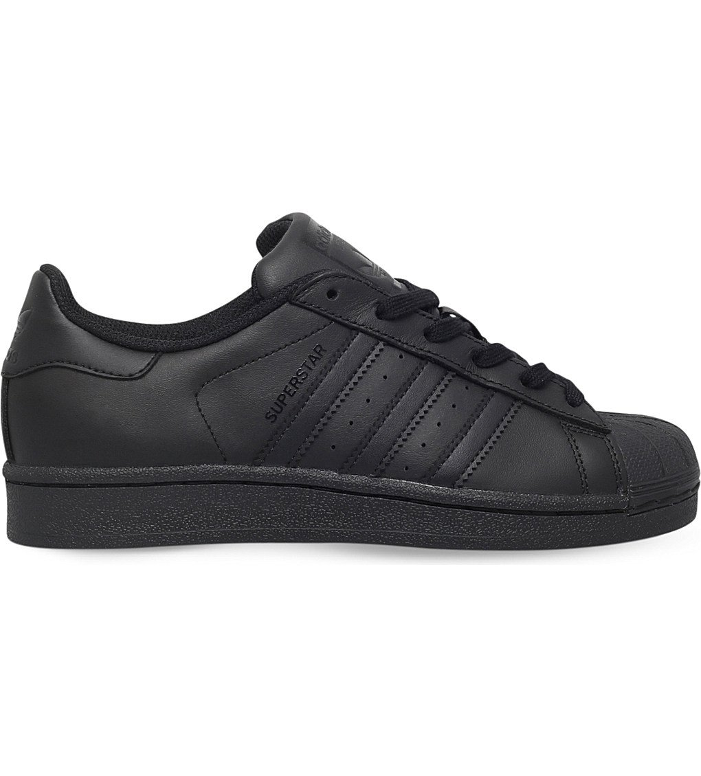 ADIDAS Superstar Foundation Leather Trainers 9-11 Years