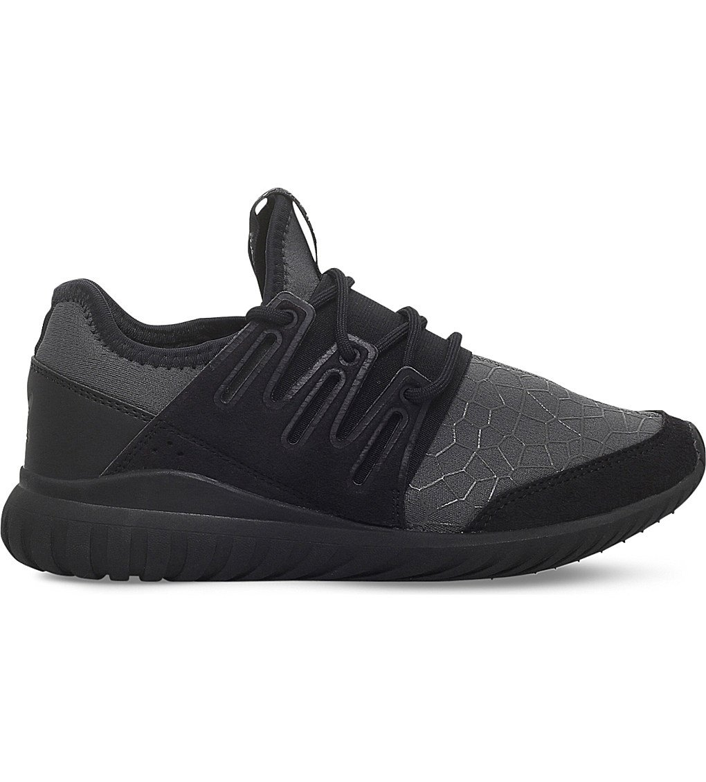 ADIDAS Tubular Radial Stretch Trainers 9-11 Years