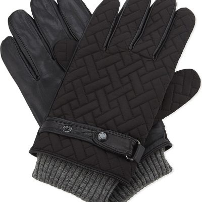 TED BAKER Ahmet Quilted Gloves