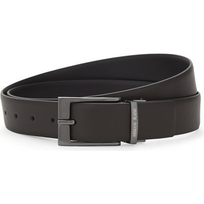 ARMANI JEANS Reversible Saffiano Leather Belt