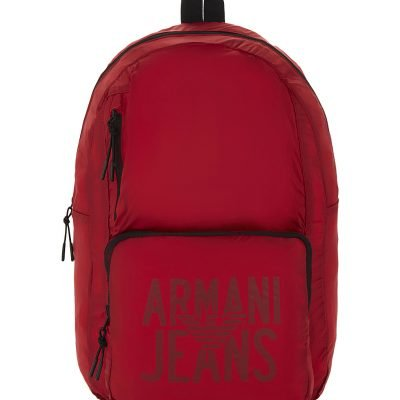 ARMANI JEANS Packaway Nylon Backpack