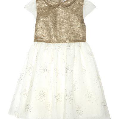 PATACHOU Embellished Metallic Dress 4-14 Years