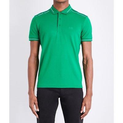 BOSS GREEN Slim-fit Jersey Polo Shirt