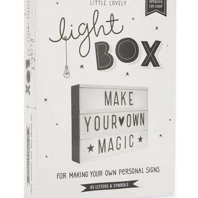 A LITTLE LOVELY COMPANY LED Lightbox