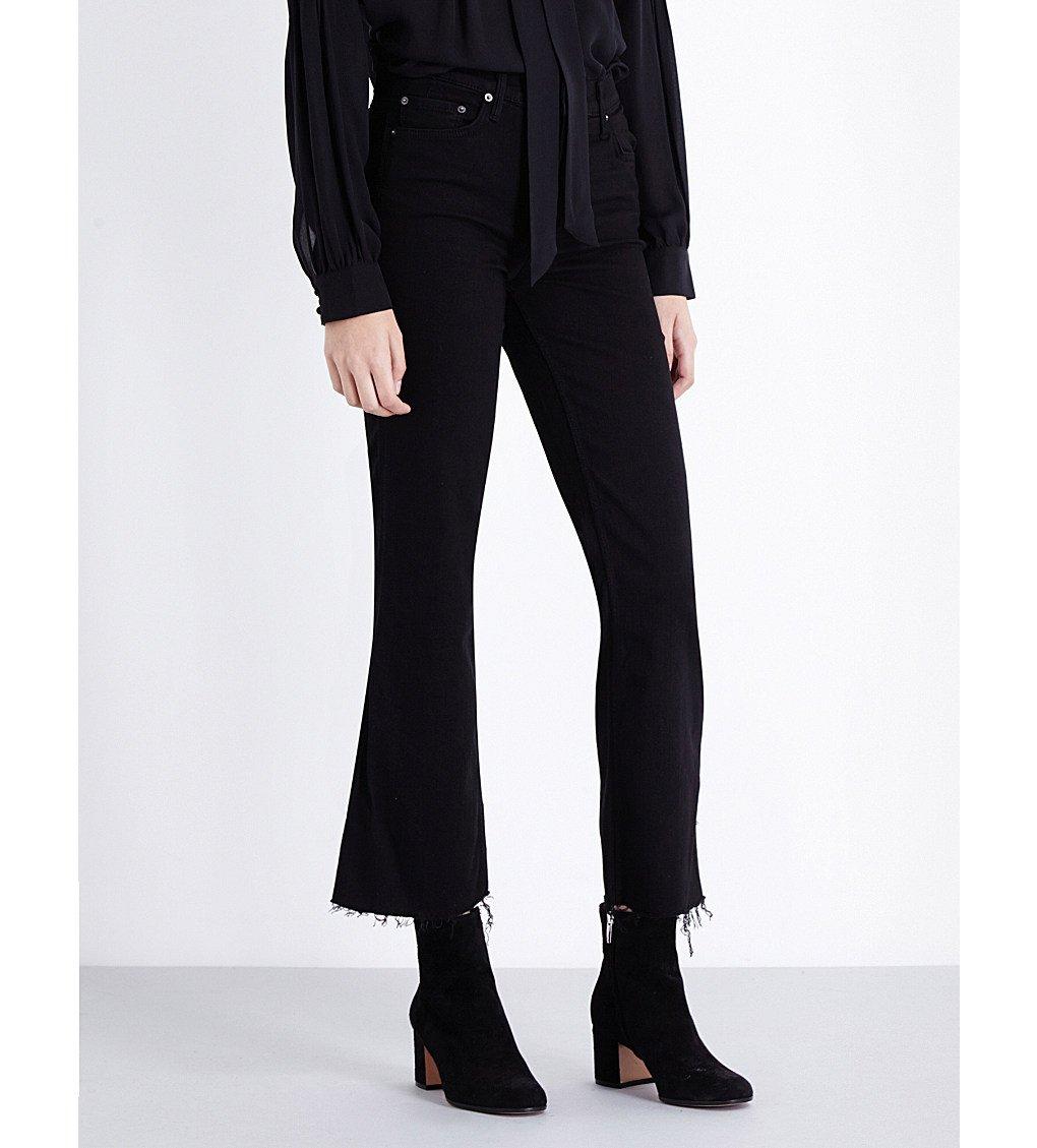 GRLFRND Joan Flared High-rise Jeans