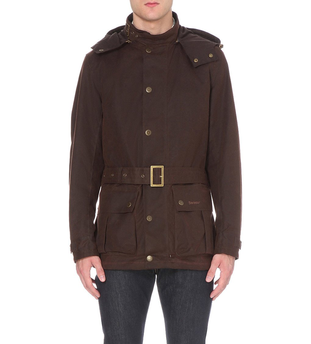 BARBOUR Mira Waxed-cotton Jacket