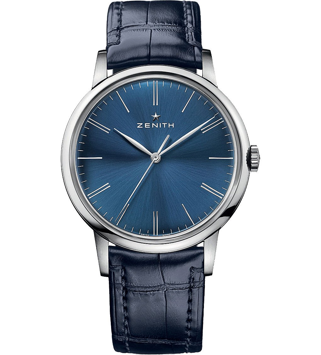 ZENITH 032272615051C700 Elite Blue Watch