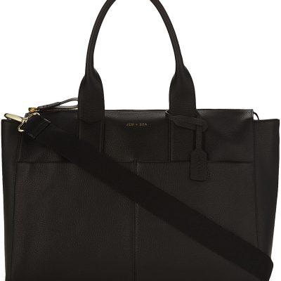 JEM + BEA Jemima Leather Changing Bag