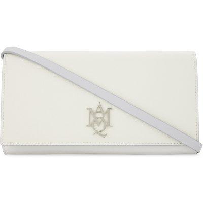 ALEXANDER MCQUEEN Insignia Leather Cross-body Bag
