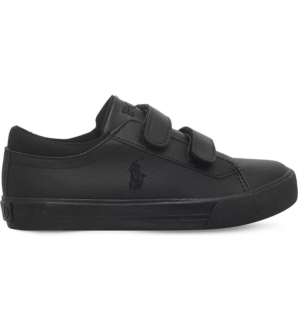 POLO RALPH LAUREN Harrison Ez Leather Trainers 2-4 Years