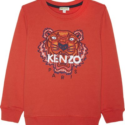 KENZO Tiger Icon Cotton Jumper 4-16 Years