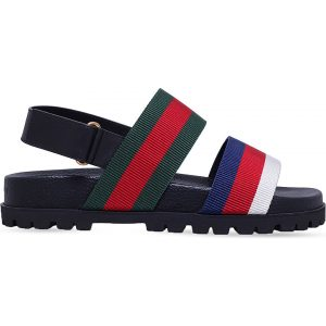GUCCI Rimini Leather Sandals