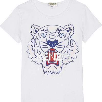 KENZO Tiger Cotton T-shirt 2-3 Years