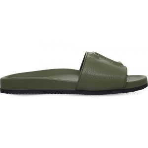 JOSHUA SANDERS 23 Leather Slide Sandals