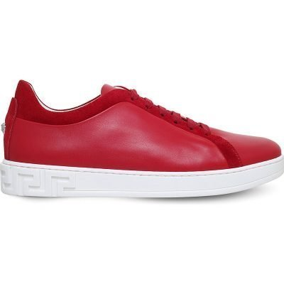 VERSACE Greco Leather Trainers