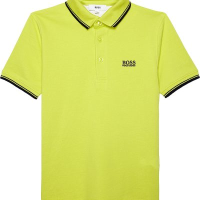 BOSS Classic Cotton Polo 4-16 Years
