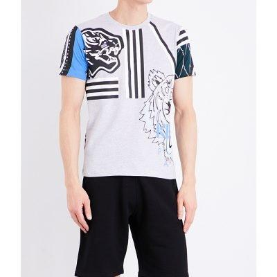 KENZO Multi-icon Cotton-jersey T-shirt
