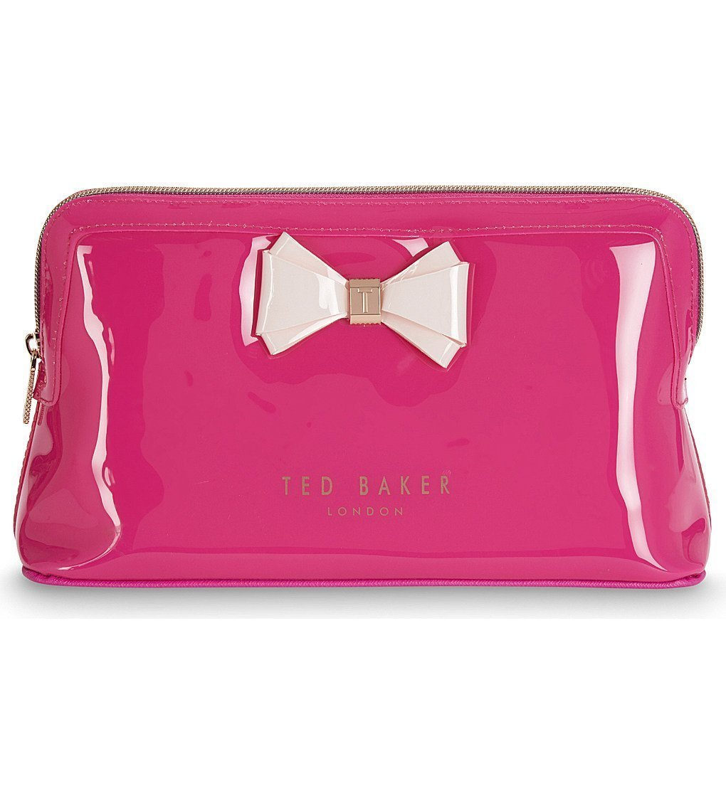 TED BAKER Abbie Bow Large Wash Bag