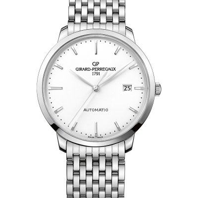 GIRARD-PERREGAUX 49555-11-131-11A 1966 Stainless Steel Watch