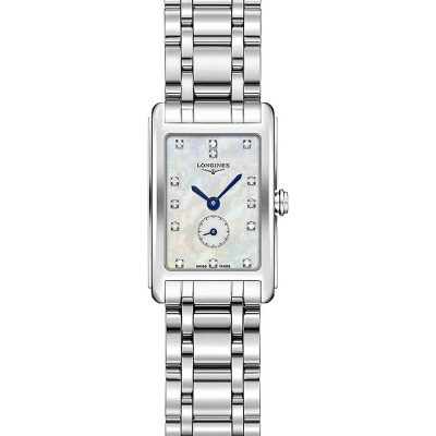 LONGINES L5.258.4.87.6 Dolcevita Diamond And Stainless Steel Watch