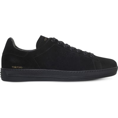 TOM FORD Warwick Suede Trainers