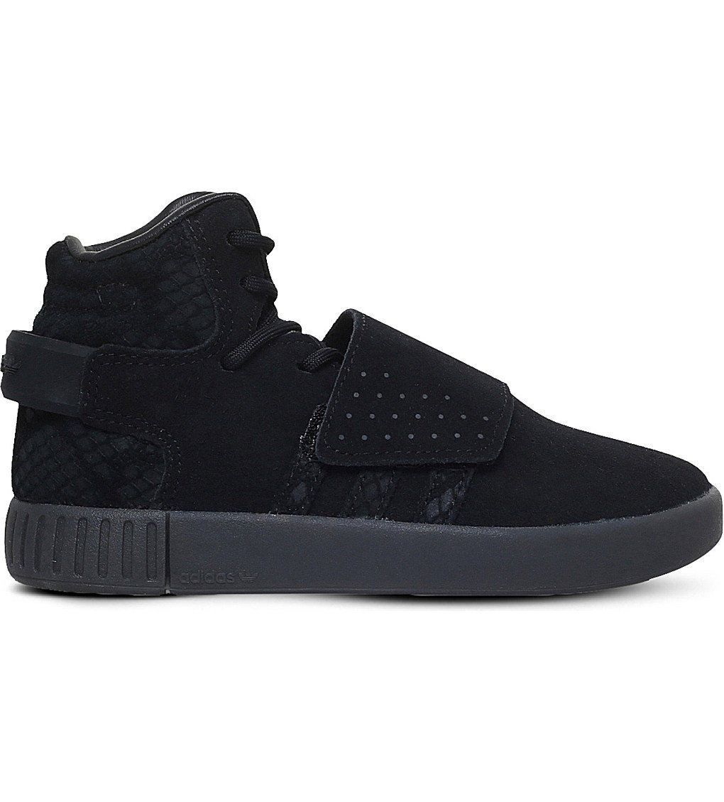 ADIDAS Tubular Invader Suede Trainers 4-9 Years