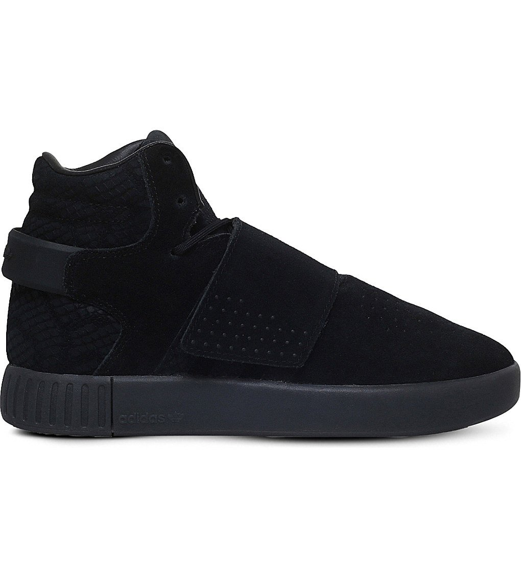 ADIDAS Tubular Invader Trainers 9-10 Years