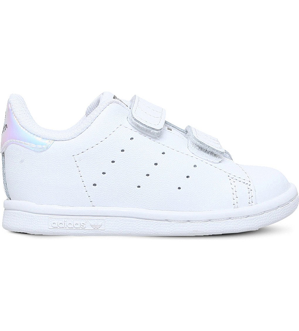 finest selection a6bbd 8b0a8 ADIDAS Stan Smith leather trainers 2-5 years