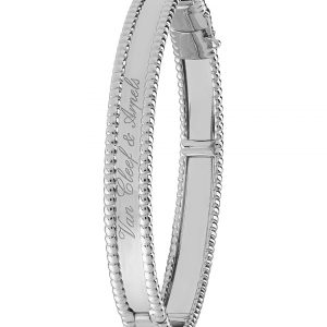VAN CLEEF & ARPELS Perlée Signature Gold Medium Bracelet